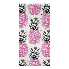 Pink Pineapple Shower Curtain 36  X 72  (stall)  by Brittlevirginclothing