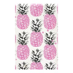 Pink Pineapple Shower Curtain 48  X 72  (small)  by Brittlevirginclothing