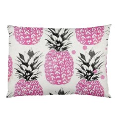 Pink Pineapple Pillow Case (two Sides) by Brittlevirginclothing