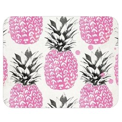 Pink Pineapple Double Sided Flano Blanket (medium)  by Brittlevirginclothing