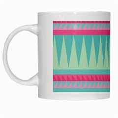 ¨pink Bohemian White Mugs by Brittlevirginclothing