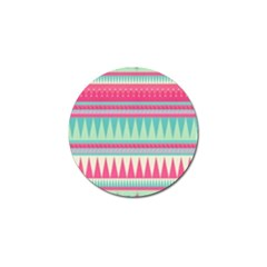 ¨pink Bohemian Golf Ball Marker (4 Pack) by Brittlevirginclothing