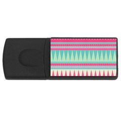 ¨pink Bohemian Usb Flash Drive Rectangular (4 Gb) by Brittlevirginclothing
