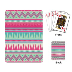¨pink Bohemian Playing Card by Brittlevirginclothing