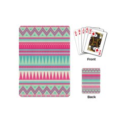 ¨pink Bohemian Playing Cards (mini)  by Brittlevirginclothing