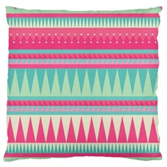 ¨pink Bohemian Standard Flano Cushion Case (two Sides) by Brittlevirginclothing