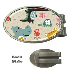 Cute Cartoon Money Clips (oval)  by Brittlevirginclothing