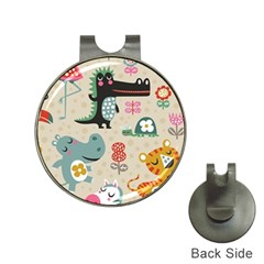 Cute Cartoon Hat Clips With Golf Markers by Brittlevirginclothing