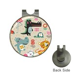 Cute cartoon Hat Clips with Golf Markers Front