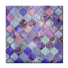 Blue Moroccan Mosaic Tile Coasters by Brittlevirginclothing