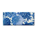 Blue flower Hand Towel Front