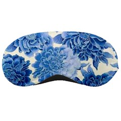 Blue Flower Sleeping Masks by Brittlevirginclothing