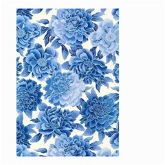 Blue Flower Small Garden Flag (two Sides) by Brittlevirginclothing