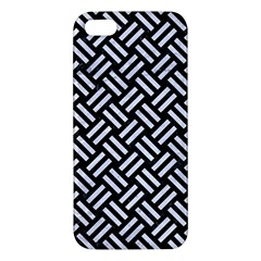 Woven2 Black Marble & White Marble Iphone 5s/ Se Premium Hardshell Case by trendistuff