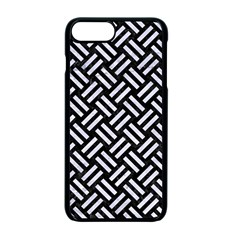 Woven2 Black Marble & White Marble Apple Iphone 7 Plus Seamless Case (black) by trendistuff