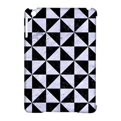 Triangle1 Black Marble & White Marble Apple Ipad Mini Hardshell Case (compatible With Smart Cover) by trendistuff