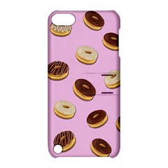 Donuts Pattern   Pink Apple Ipod Touch 5 Hardshell Case With Stand by Valentinaart