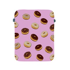 Donuts Pattern   Pink Apple Ipad 2/3/4 Protective Soft Cases by Valentinaart