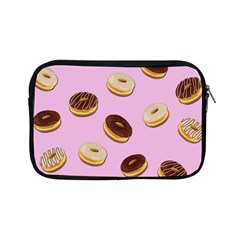 Donuts Pattern   Pink Apple Ipad Mini Zipper Cases by Valentinaart