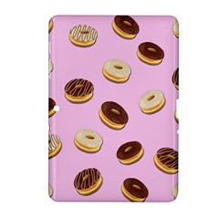 Donuts Pattern   Pink Samsung Galaxy Tab 2 (10 1 ) P5100 Hardshell Case  by Valentinaart