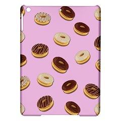 Donuts Pattern   Pink Ipad Air Hardshell Cases by Valentinaart