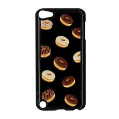 Donuts Apple Ipod Touch 5 Case (black) by Valentinaart