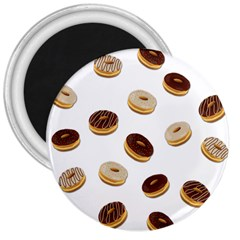 Donuts Pattern 3  Magnets by Valentinaart