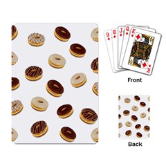 Donuts Pattern Playing Card