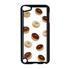Donuts Pattern Apple Ipod Touch 5 Case (black) by Valentinaart