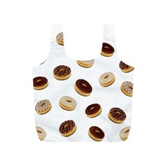 Donuts Pattern Full Print Recycle Bags (s)  by Valentinaart