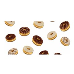 Donuts Pattern Satin Wrap by Valentinaart