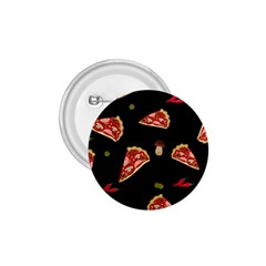 Pizza Slice Patter 1 75  Buttons by Valentinaart