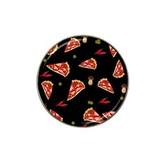 Pizza Slice Patter Hat Clip Ball Marker (10 Pack) by Valentinaart