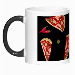 Pizza Slice Patter Morph Mugs by Valentinaart
