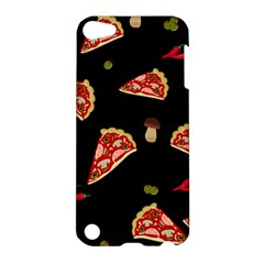 Pizza Slice Patter Apple Ipod Touch 5 Hardshell Case by Valentinaart