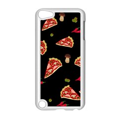 Pizza Slice Patter Apple Ipod Touch 5 Case (white) by Valentinaart