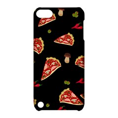 Pizza Slice Patter Apple Ipod Touch 5 Hardshell Case With Stand by Valentinaart