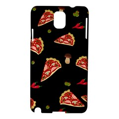 Pizza Slice Patter Samsung Galaxy Note 3 N9005 Hardshell Case by Valentinaart
