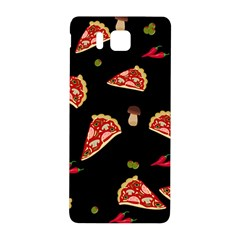 Pizza Slice Patter Samsung Galaxy Alpha Hardshell Back Case by Valentinaart