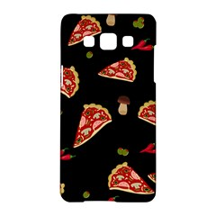 Pizza Slice Patter Samsung Galaxy A5 Hardshell Case  by Valentinaart