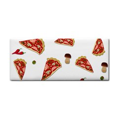 Pizza Pattern Cosmetic Storage Cases by Valentinaart