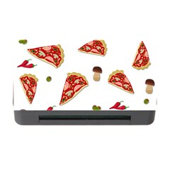 Pizza Pattern Memory Card Reader With Cf