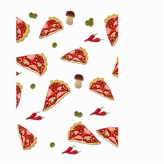 Pizza Pattern Small Garden Flag (two Sides) by Valentinaart