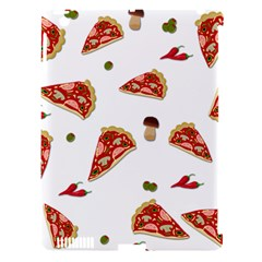 Pizza Pattern Apple Ipad 3/4 Hardshell Case (compatible With Smart Cover)