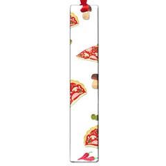 Pizza Pattern Large Book Marks by Valentinaart