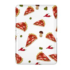 Pizza Pattern Samsung Galaxy Tab 2 (10 1 ) P5100 Hardshell Case  by Valentinaart