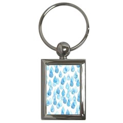 Rain Drops Key Chains (rectangle)  by Brittlevirginclothing