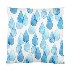 Rain Drops Standard Cushion Case (two Sides) by Brittlevirginclothing
