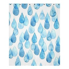 Rain Drops Shower Curtain 60  X 72  (medium)  by Brittlevirginclothing