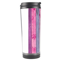 Pink Wood Travel Tumbler by Brittlevirginclothing